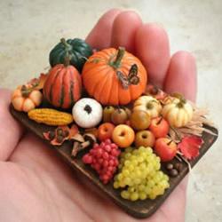 非常可爱的迷你手工艺品 带你进入微型世