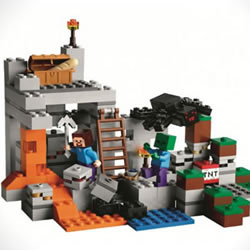 LEGO 全新推出 Minecraft 玩具套装