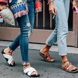 不修裤脚的粗犷 这个秋冬属于牛仔裤的潮流