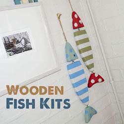 简单木工活:手工DIY漂亮的小鱼挂件玩具
