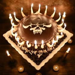 美女摄影师巧手打造 令人害怕的惊悚蛋糕