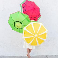 水果味雨伞手工制作 简单创意阳伞diy教程图片