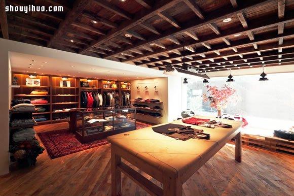 Woolrich 東京美式氛圍服飾旗艦店設計
