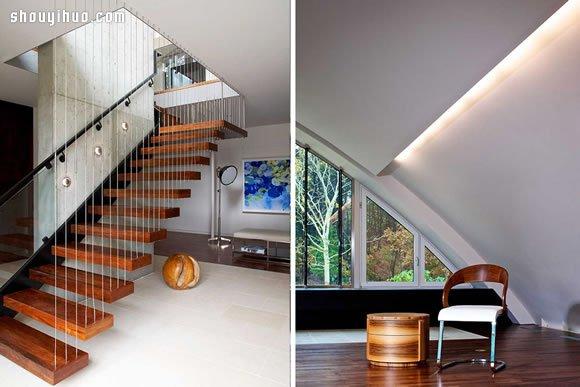 房屋楼梯设计图 半圆形