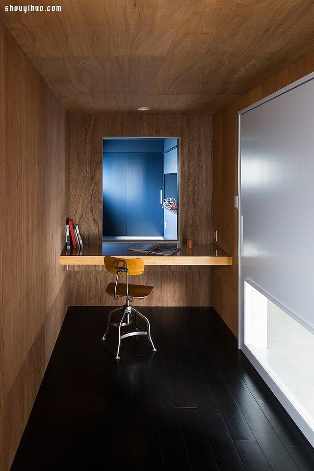 日本赫茲縣落地大玻璃山地別墅裝修設計
