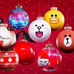 废塑料回收DIY可爱又特别的圣诞装饰小球