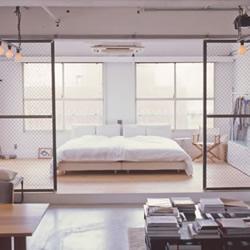五脏俱全的日本东京工业风阁楼装修设计