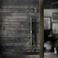 复古旧皮带变废为宝 打造皮革元素家居风