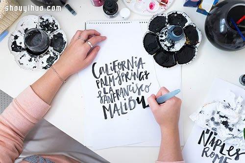 21岁梦想家:字体设计师Jasmine Dowling -  www.shouyihuo.com
