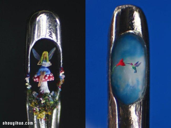 大头针针眼里的超微型雕刻艺术 -  www.shouyihuo.com