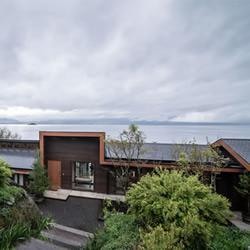 智利南部无敌湖景木屋式别墅装修设计