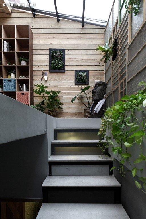 两层半老房翻新 欧式优雅与工业风混搭设计(2)