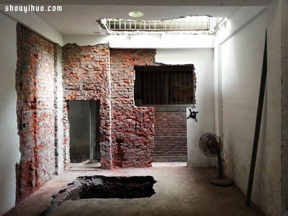 两层半老房翻新 欧式优雅与工业风混搭设计