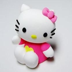 Hello Kitty猫咪软陶公仔粘土玩偶手工制作