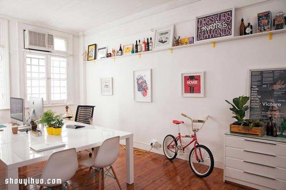 无拘无束创意空间 平面设计办公空间布置