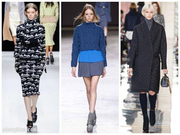 這樣穿其實很帥氣 秋冬女生時髦高領穿搭法