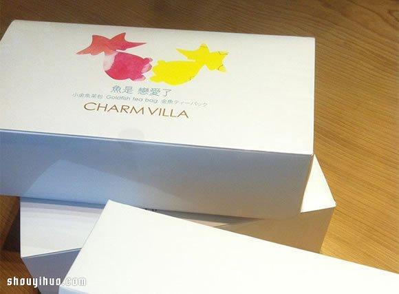 平面设计 包装设计  子村庄园 2014年新品发表会上的小金鱼茶包展示.