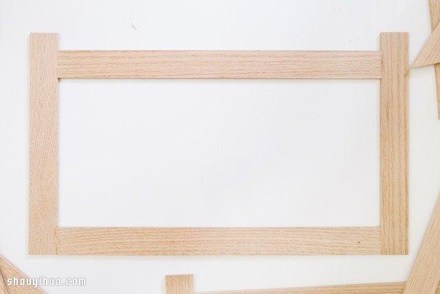 时尚3d置物架木工制作