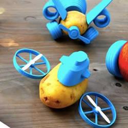 Open Toys!令小孩无法抗拒的蔬果玩具