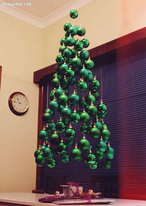 20个圣诞树diy手工制作创意 来做圣诞树吧!