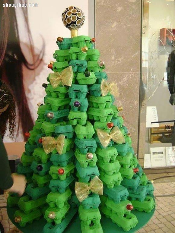 20个圣诞树diy手工制作创意 来做圣诞树吧!(2)
