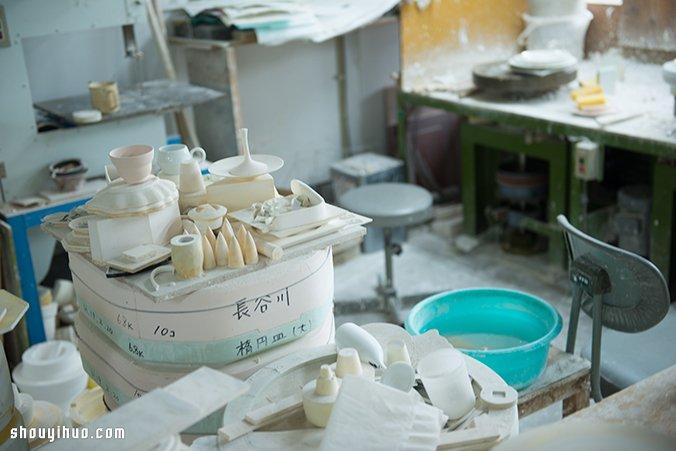 来自日本的超萌北极熊茶包盖陶艺手工制作 -  www.shouyihuo.com