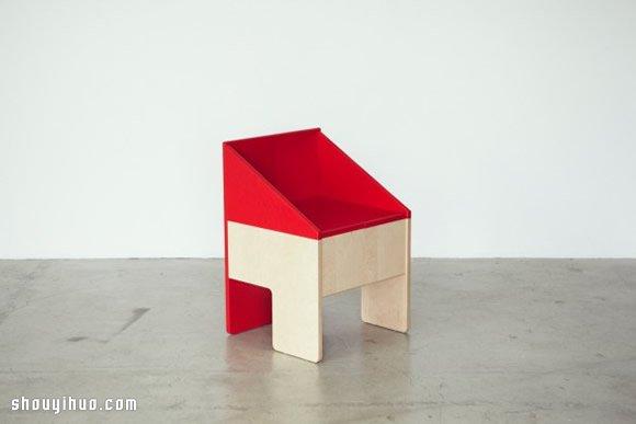 日本ichiro 多功能娃娃屋儿童椅设计