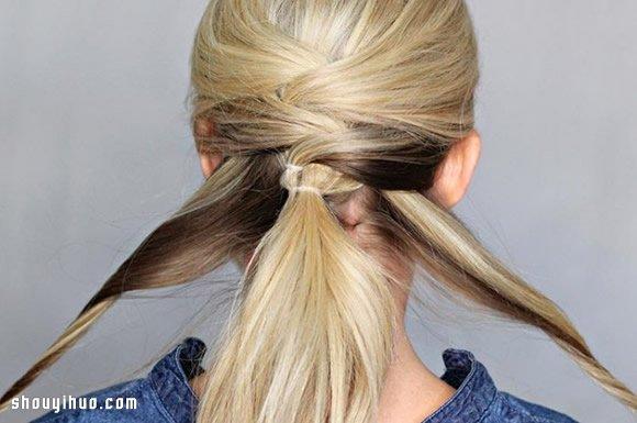 三大编发盘发古典发型让你秋冬不再单调!图片