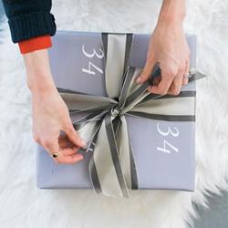 如何用丝带包装礼盒 包装丝带捆绑DIY图解