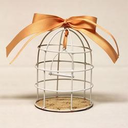 铁丝DIY手工制作迷你鸟笼装饰品图解教程