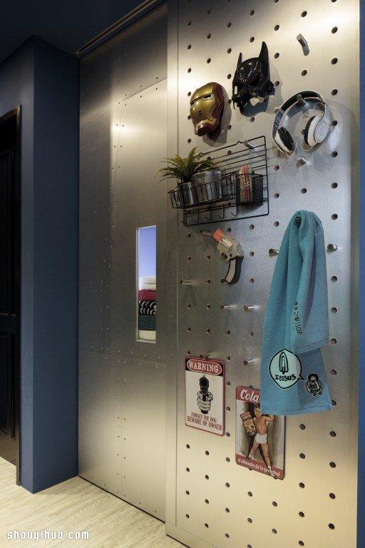 60平米小户型家居未来科技感装修设计