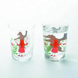 利用水的折射原理 简单DIY童話故事玻璃杯