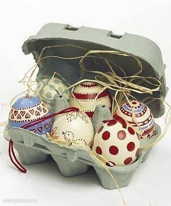 美轮美奂的鸡蛋壳手绘雕刻diy手工艺术品(2)