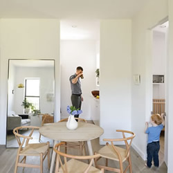 66平米小户型公寓 装修成3+1口简约生活空