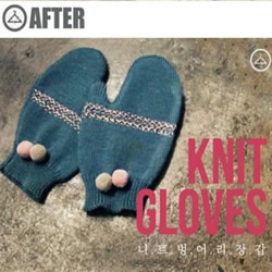 旧毛衣改造再利用 手工DIY冬日保暖手套