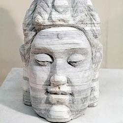 纸雕:旧书废物利用雕刻精美手工艺术品