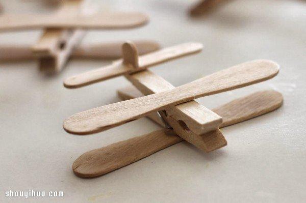 简单手工制作飞机模型玩具