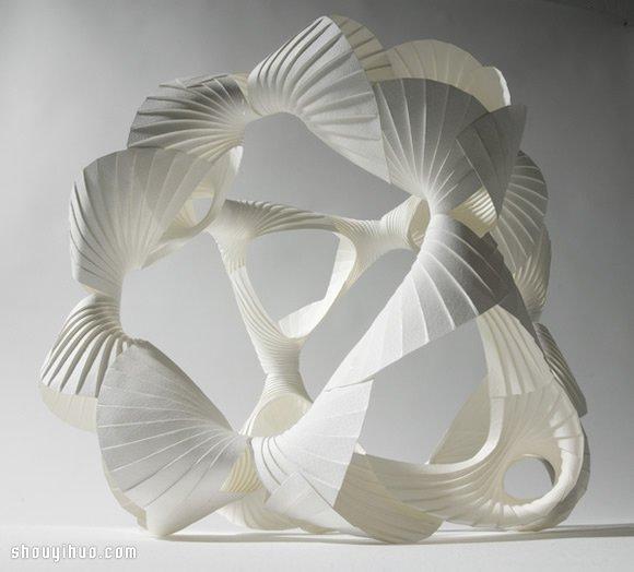 難以形容卻又美到令人驚嘆的紙雕作品欣賞