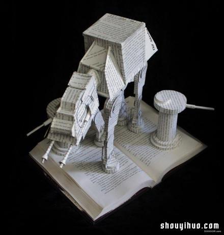 博大精深的紙藝術 超有創意的摺紙作品欣賞