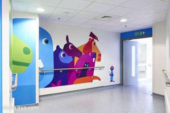 游乐园般的漂亮儿童医院装修布置设计