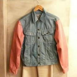 旧夹克外套染色改造 手工DIY时尚个性夹克