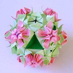 折纸花大全图解_纸花的折法图解_纸花制作方法教程_花图片