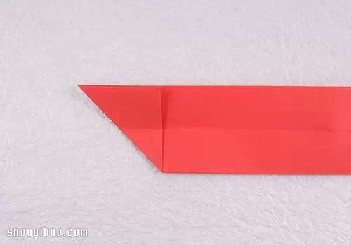 手工摺紙可愛貓咪圖解 逼真貓咪的折法教學