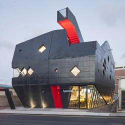 Gomir 韩国济州岛特色龙头旅店装修设计