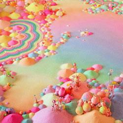 糖果DIY童话中的梦幻糖果屋
