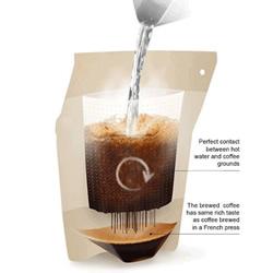 便携咖啡冲泡袋 让人随时随地享用香醇咖
