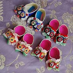 儿童虎头鞋的做法 虎头鞋布艺手工制作教程