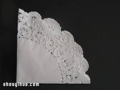 鸽子的折法图解 圆形餐巾纸折纸鸽子的教程 - www.shouyihuo.com