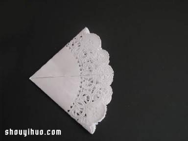 鸽子的折法图解 圆形餐巾纸折纸鸽子的教程图片