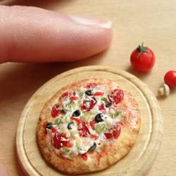 超迷你超精致的软陶粘土美食模型